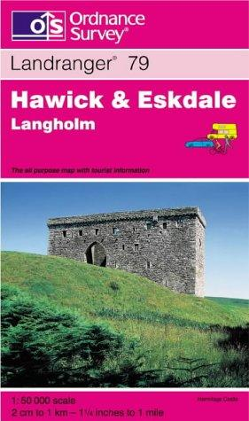 Download Hawick and Eskdale, Langholm (Landranger Maps)