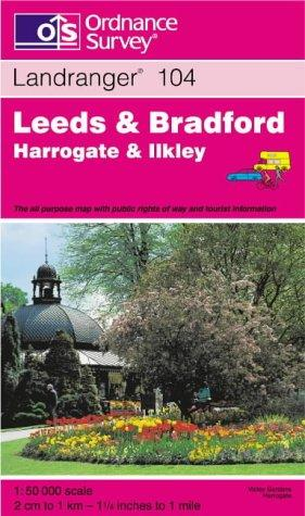 Download Leeds and Bradford – Harrogate and Ilkley (Landranger Maps)