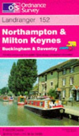 Northampton and Milton Keynes, Buckingham and Daventry (Landranger Maps)