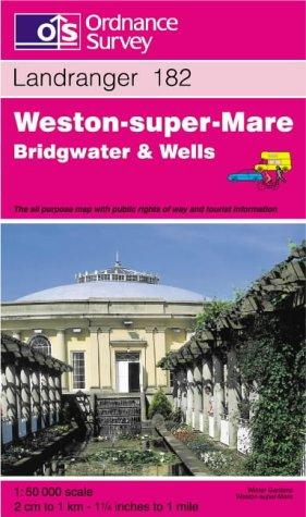 Weston-super-Mare, Bridgwater and Wells (Landranger Maps)