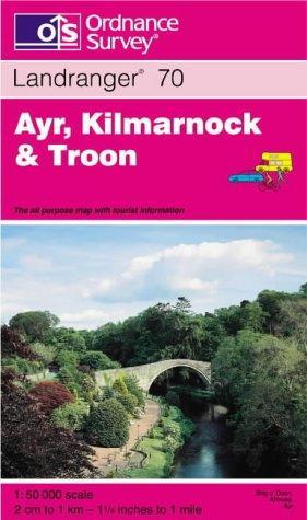 Ayr, Kilmarnock and Troon (Landranger Maps)