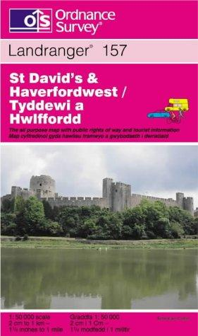 St.David's and Haverfordwest (Landranger Maps)