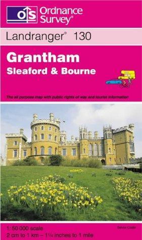 Grantham, Sleaford and Bourne (Landranger Maps)