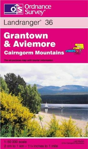 Download Grantown, Aviemore and Cairngorm Mountains (Landranger Maps)