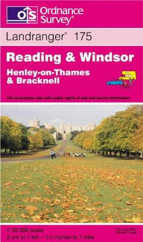 Reading and Windsor, Henley-on-Thames and Bracknell (Landranger Maps)