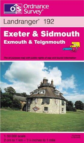 Download Exeter and Sidmouth, Exmouth and Teignmouth (Landranger Maps)