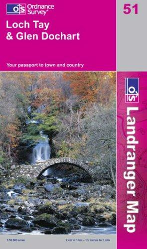 Download Loch Tay and Glen Dochart (Landranger Maps)
