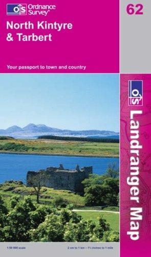 Download North Kintyre and Tarbert (Landranger Maps)