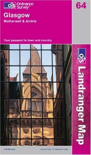 Download Glasgow, Motherwell and Airdrie (Landranger Maps)