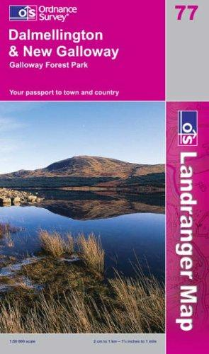 Download Dalmellington and New Galloway, Galloway Forest Park (Landranger Maps)