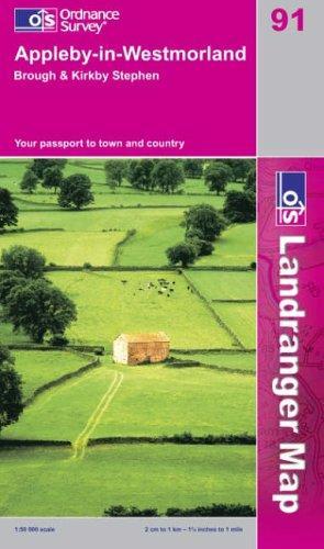 Download Appleby-in-Westmorland (Landranger Maps)
