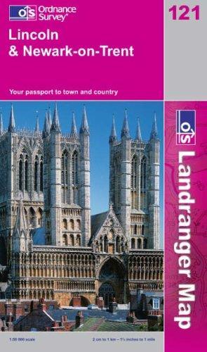 Download Lincoln and Newark-on-Trent (Landranger Maps)