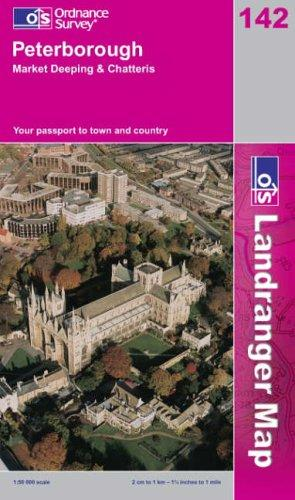 Peterborough, Market Deeping and Chatteris (Landranger Maps)