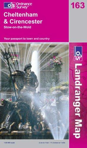 Download Cheltenham and Cirencester, Stow-on-the-Wold (Landranger Maps)