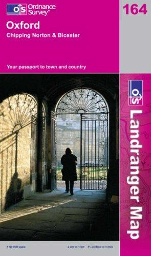 Download Oxford, Chipping Norton and Bicester (Landranger Maps)