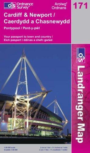 Download Cardiff and Newport, Pontypool (Landranger Maps)