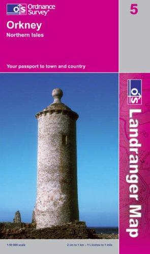 Orkney – Northern Isles (Landranger Maps)