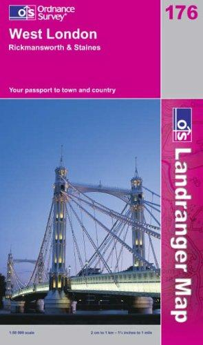 Download West London, Rickmansworth and Staines (Landranger Maps)