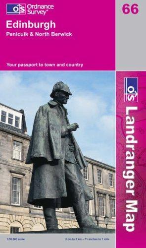 Download Edinburgh, Penicuik and North Berwick (Landranger Maps)