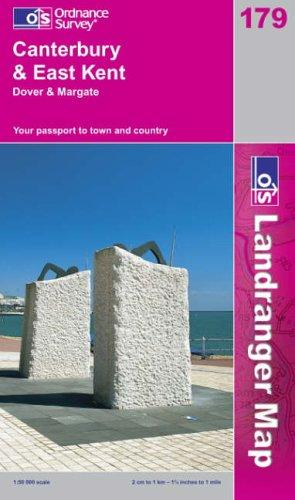 Download Canterbury and East Kent, Dover and Margate (Landranger Maps)