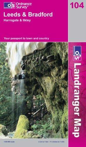 Download Leeds and Bradford, Harrogate and Ilkley (Landranger Maps)