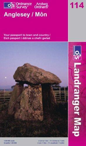 Anglesey (Landranger Maps)
