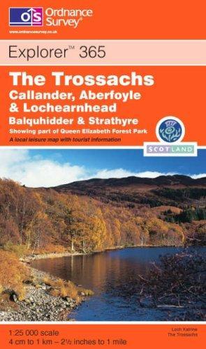 Download The Trossachs (Explorer Maps)