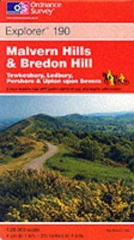 Download Malvern Hills and Bredon Hill (Explorer Maps)