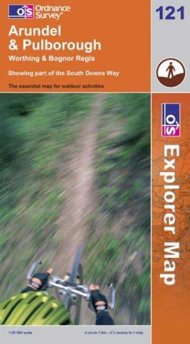 Download Arundel and Pulborough (Explorer Maps)