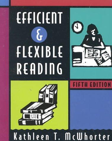Download Efficient and flexible reading