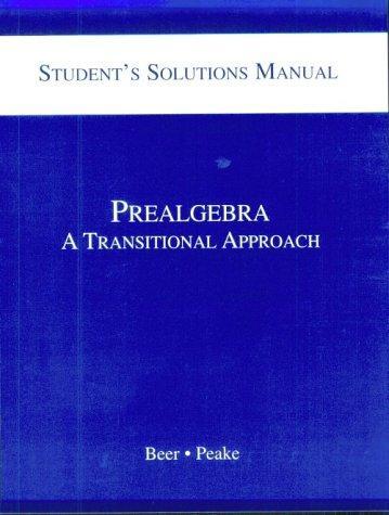 Download Prealgebra