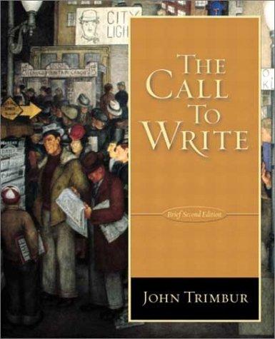 Download The Call To Write (Brief 2nd Edition)
