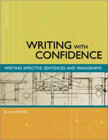 Download Writing with Confidence