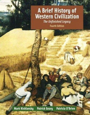 A brief history of Western civilization