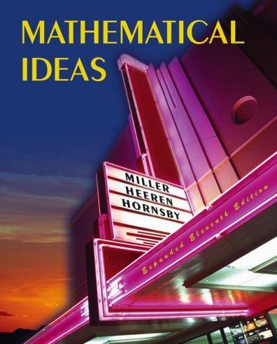 Mathematical ideas.