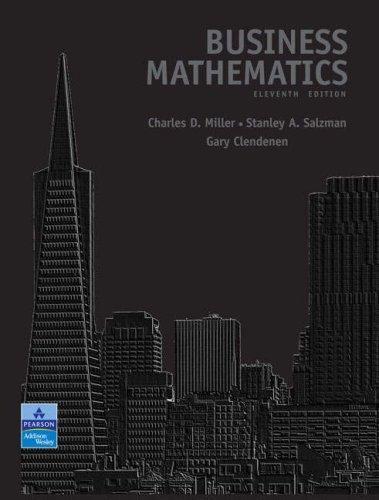 Business Mathematics (11th Edition)