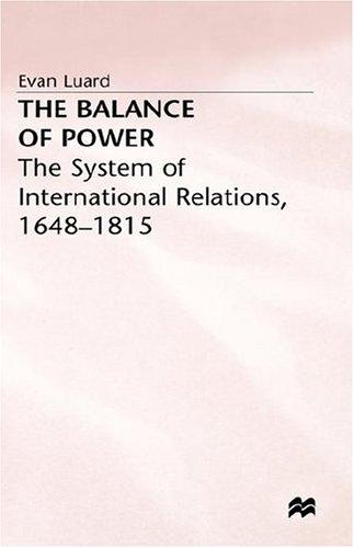 Download The balance of power