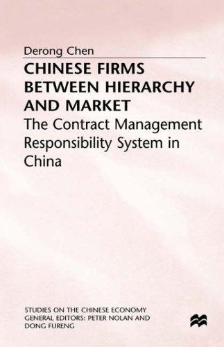 Chinese firms between hierarchy and market