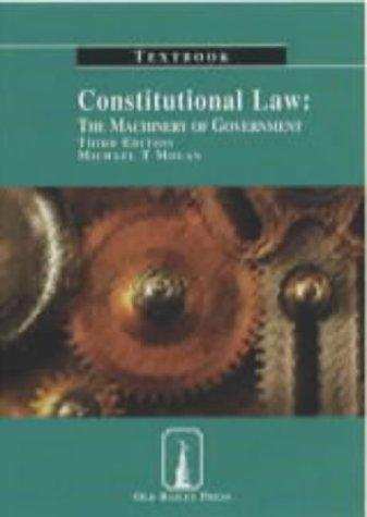 Download Constitutional Law Textbook (Old Bailey Press Textbooks)