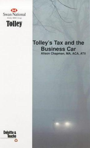 Tolley's Tax and the Business Car