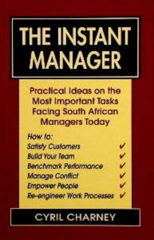 The Instant Manager by Cyril Charney