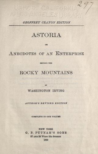Download Irving's works.