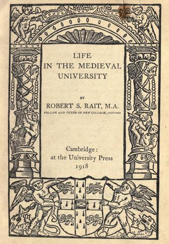 Download Life in the medieval university