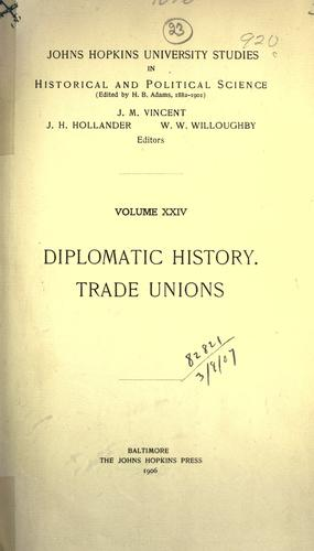 Spanish-American diplomatic relations preceding the war of 1898.