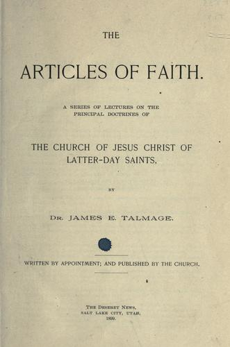 Download The Articles of faith