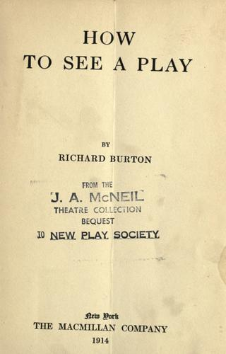 Download How to see a play.