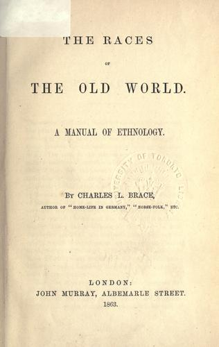 Download The races of the old world