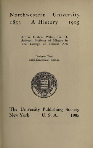 Northwestern University by Arthur Herbert Wilde