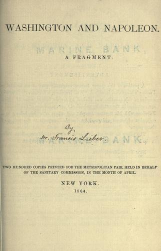Download Washington and Napoleon.