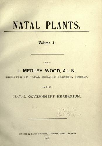 Download Natal plants